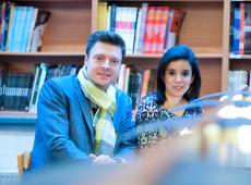 Koen Metsu en Nadia Sminate